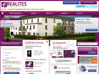 Realites - Immobilier neuf basse consommation