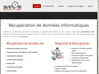 Détails : diskeom-recuperation-donnees.com